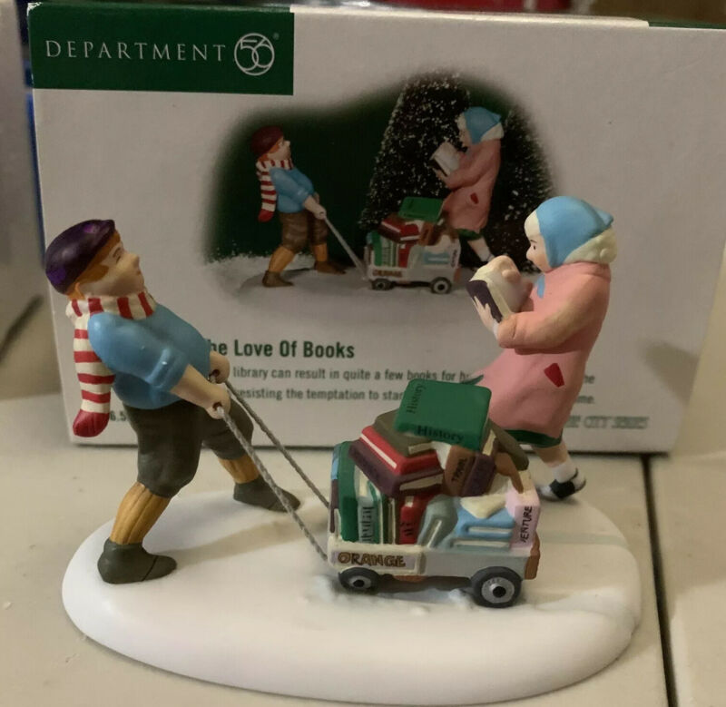 Department 56 Christmas in the City For the Love of Books  #56-58999 (2002)