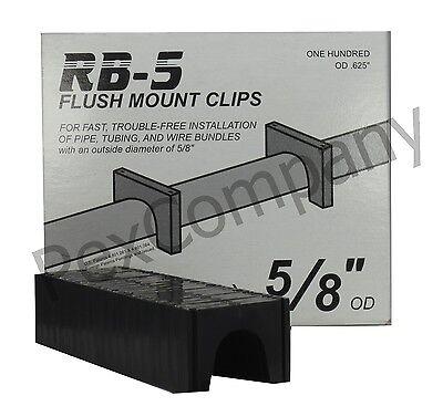 12 Pex Flush Mount Clips F5od Peter Mangone Rb-5 Cpvc  O
