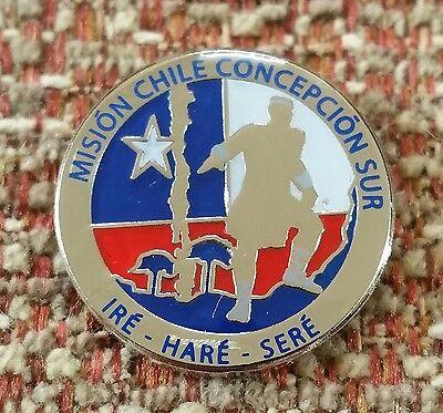 CHILE CONCEPCION SUR MISSION LAPEL PIN mormon (Mission Lapel Pin)
