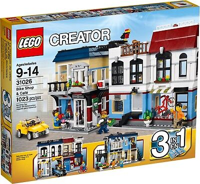 Brand New  Lego Creator Bike Shop   Caf  31026