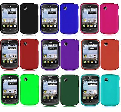 Hard Protector Faceplate Case Phone Cover Accessory for TRACFONE LG 306G LG306G (Phone Faceplate Protector Cover Case)