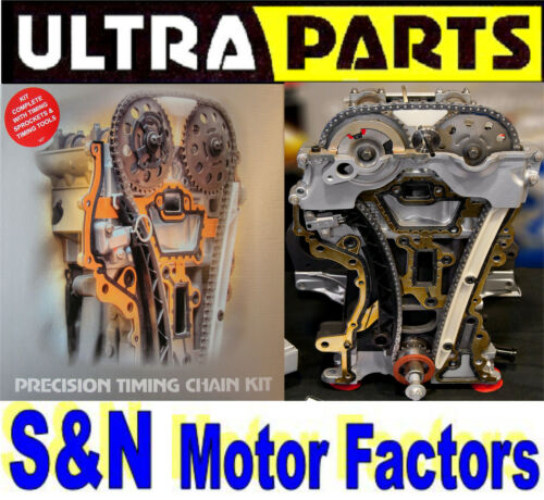 Timing Chain Kit - fits Toyota Auris Avensis Corolla Rav4 - D4D - TK90