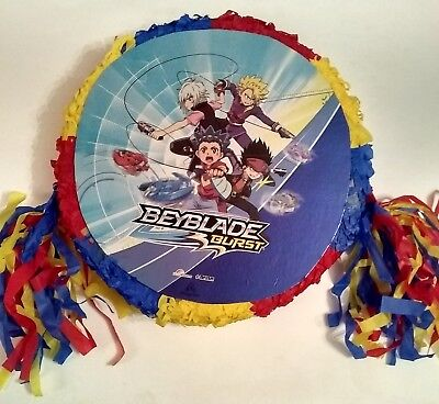 Beyblade  Pinata Birthday Party Game  party Decoration FREE SHIPPING