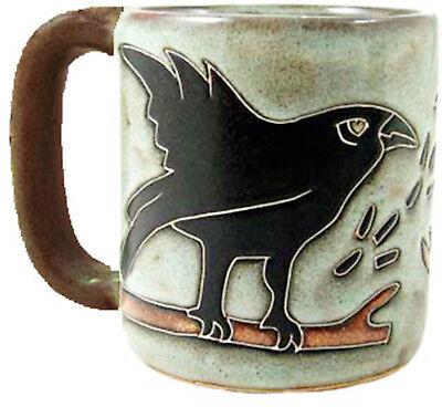 Mara Stoneware Mug - Ravens   16 oz - Round Bottom