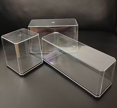 Mini Display Case With Base Clear Show Box For Collectibles