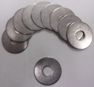 Flat Fender Washer 3/8 x 1-1/4 OD Stainless Steel 18-8-SS 304 Quantity 30 ()
