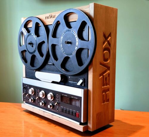 Wooden case for Revox B77 without a finish KIT
