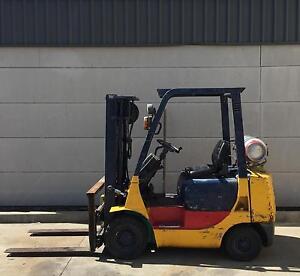 Mitsubishi Forklift 1.8ton, 3 stage mast, side shift. $6,000.00 plus Narellan Camden Area Preview