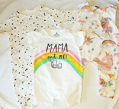 Baby girl 0-3 months Clothes Bundle Next Ropmer