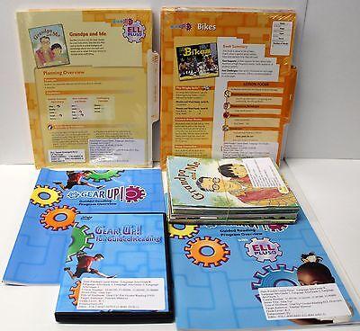 Gear Up,Ell Fluency Kit: Grade 1-2 Guided Reading,ELL Lesson Plans,DVD,Books (3) Guided Reading Lesson Plans