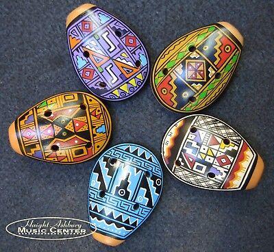 Cusco Medium Painted Ceramic Ocarina