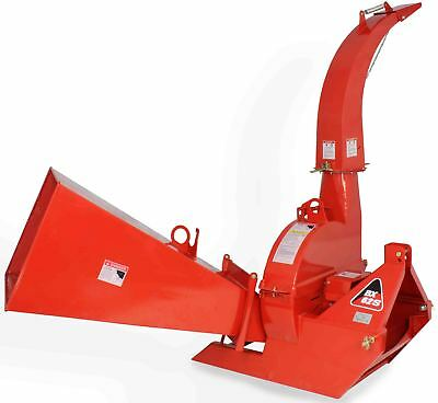 Wood Chipper 3 Point Attachment Tractor Pto 6x12 Automatic Tree Brush Bx62