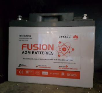 Deep cycle battery 50ah 12v