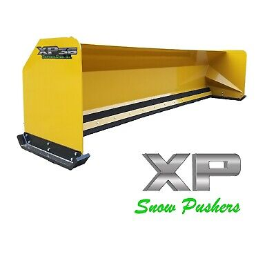 14 Xp36 Jrb 416 Snow Pusher Box For Backhoe Loader - Local Pick Up - Rtr