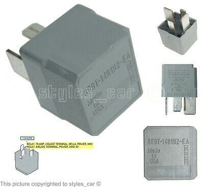 6C1T-10B728-AA Ford Transit MKVII Genuine FoMoCo Battery Disconnect Relay