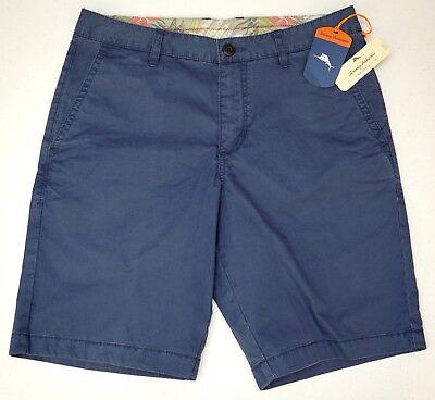 NWT $78 Tommy Bahama Echo Blue Navy Shorts Mens Size 30 Sail Away NEW