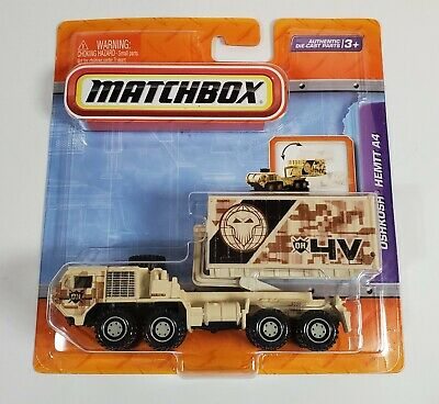MATCHBOX OSHKOSH HEMTT A4 ARMY MILITARY REAL WORKING PARTS TAN CAMO MOSC 2010