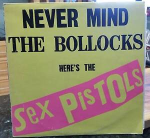 The Sex Pistols: Never Mind The B******S. Vinyl Record. (LP). Gelorup Capel Area Preview