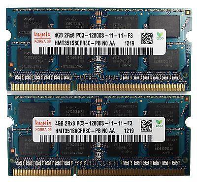 NEW HYNIX 8GB (2x4GB) PC3 12800S DDR3 1600MHZ 204 PIN -PC APPLE -TESTED
