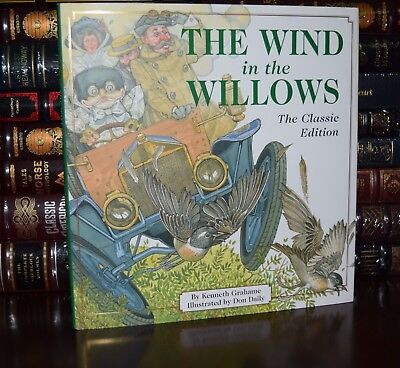 Wind in the Willows by Grahame Illustrated Daily New Deluxe Collectible Classics