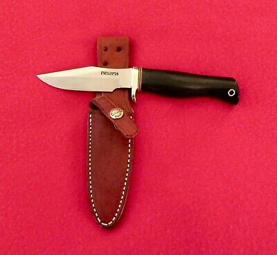 "Randall Model 8 ""Trout and Bird"" Knife, Stainless, Old New Stock."