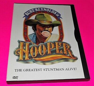 Hooper (Excellent Condition DVD) Burt Reynolds + With free Shipping Fast