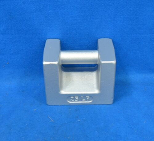 RICE LAKE WEIGHING SYSTEMS 25 lb Calibration Weight 12833