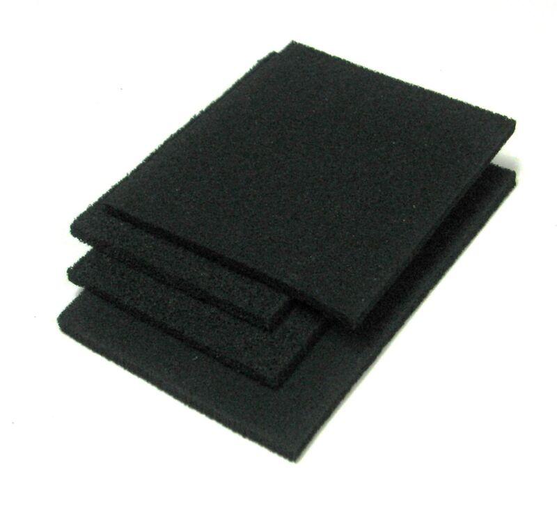 """Lossy Foam Microwave Absorber Sheet RF Shield 1/4"""" 18GHz Mast Tech MF22 2@24x24"""""""