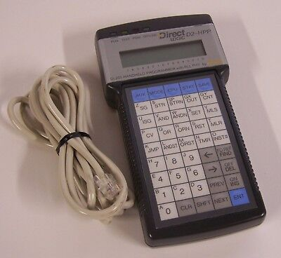 Automation Direct - Direct Logic D2-hpp Dl205 Handheld Programmer W Rll Plus