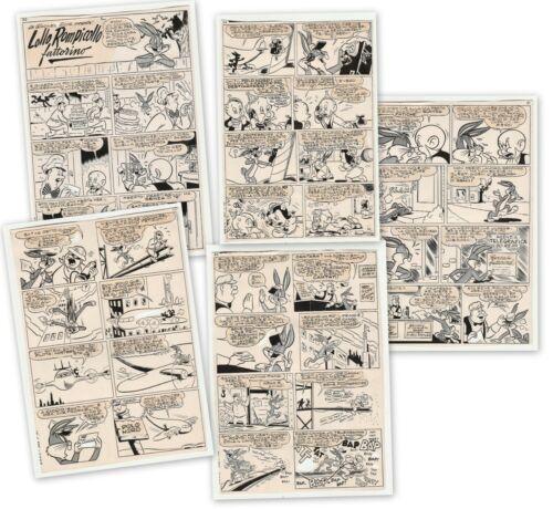 WARNER BROS Comics - Lollo Rompicollo (Bugs Bunny) Fattorino (al Polo Nord) 1953