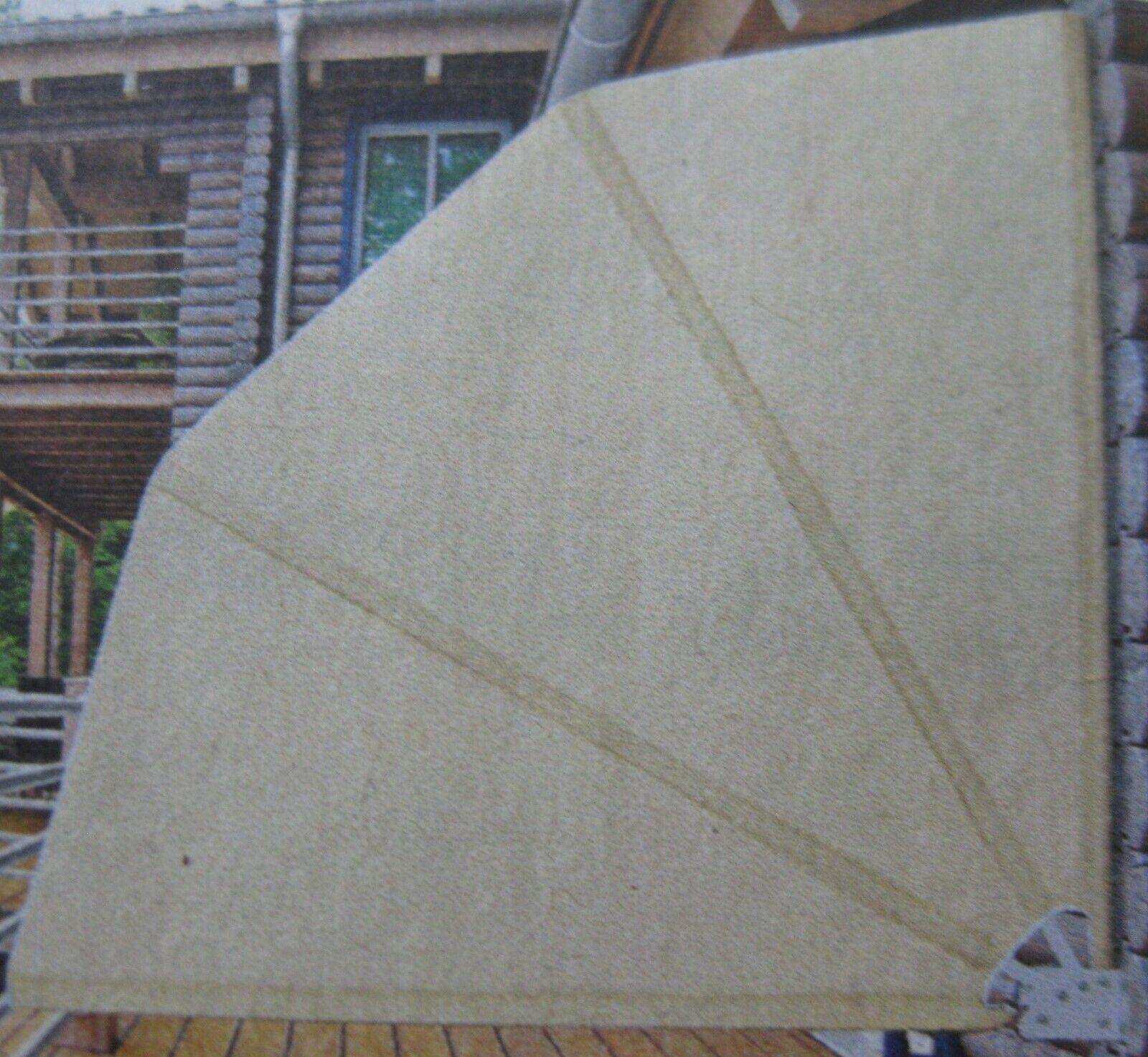 Casa Pro Balkonfacher Sichtschutz Grau Seiten Markise