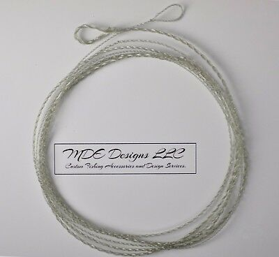 Fluorocarbon//Dyneema 7-foot Saltwater Fly Fishing Leader with RING Furled 22 Lb