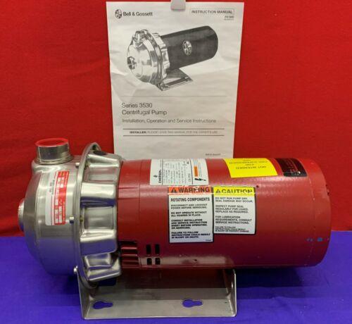 Bell & Gossett 3530 Centrifugal Pump 30-10T 1 AM20 / P63FPG-4277 3PH 208-230/460