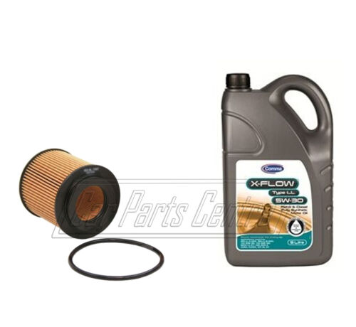 FOR VAUXHALL ASTRA H ZAFIRA B ENGINE OIL FILTER 5L 5W30 LONG LIFE 1.9 CDTi 2004-