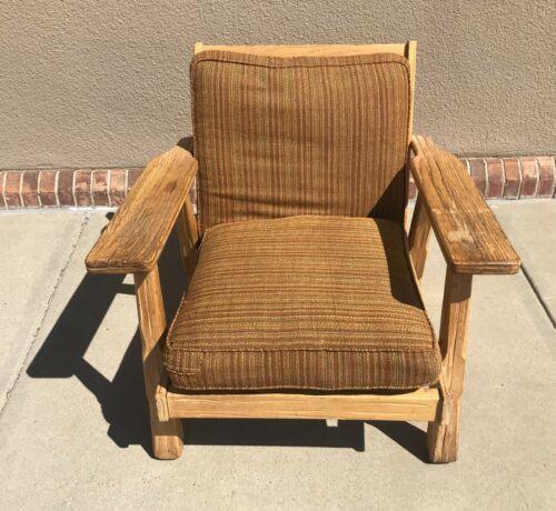 A. Brandt Ranch Oak Lounge Chair