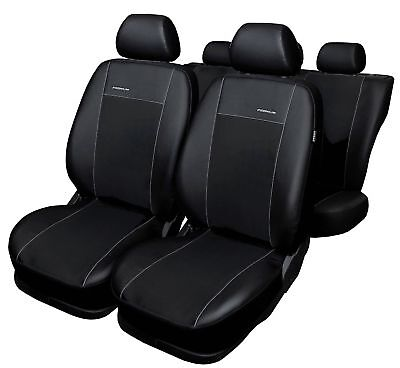 Fiat Schonbezüge Sitzbezug Sitzbezüge Fahrer/&Beifahrer Kunstleder D101