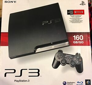 Sony PlayStation 3, 2 wireless controllers, & 3 games