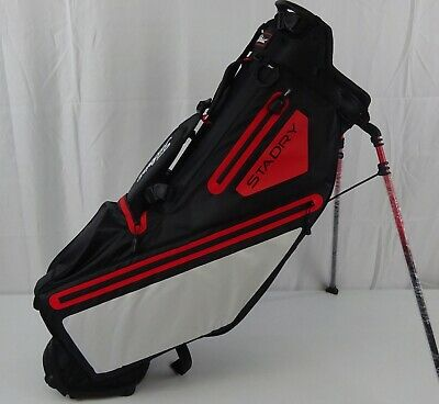 Titleist Golf Players 4 StaDry Stand Bag Black/White/Red TB8SS3AC-016