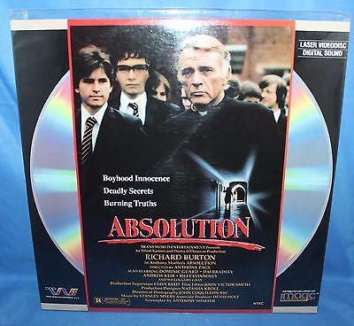 Absolution Transworld Entertainment Video Laser Disc 1978