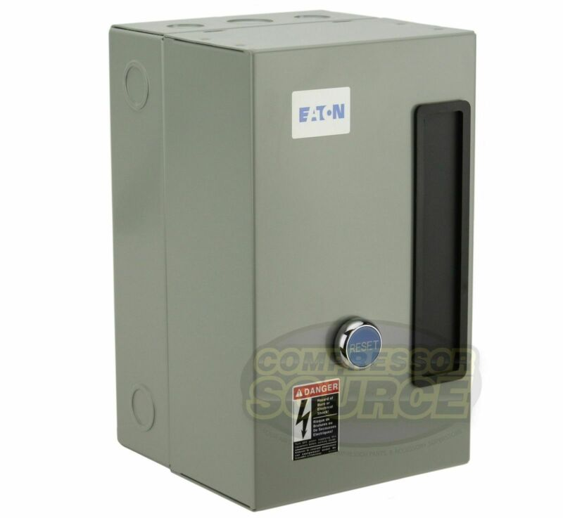 Eaton 7.5 HP Single 1 Phase 230V Magnetic Starter B27CGF40B040 Motor Control New