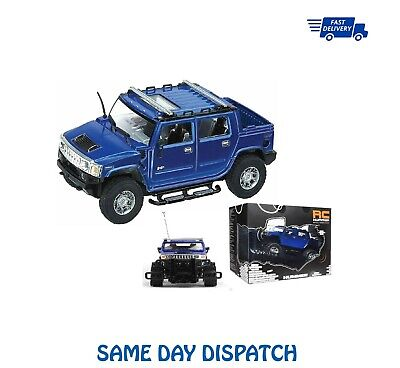 Hummer H2 SUV Completo Función RC Radiocontrol Remoto Coche 1:24 Escala (H2...