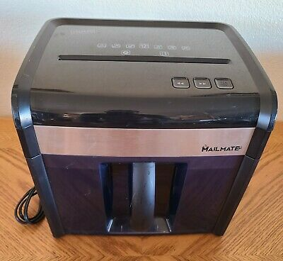 Staples Mailmate M7 Heavy Duty Paper Shredder 12-sheet Cross-cut Spl-txc12m7a