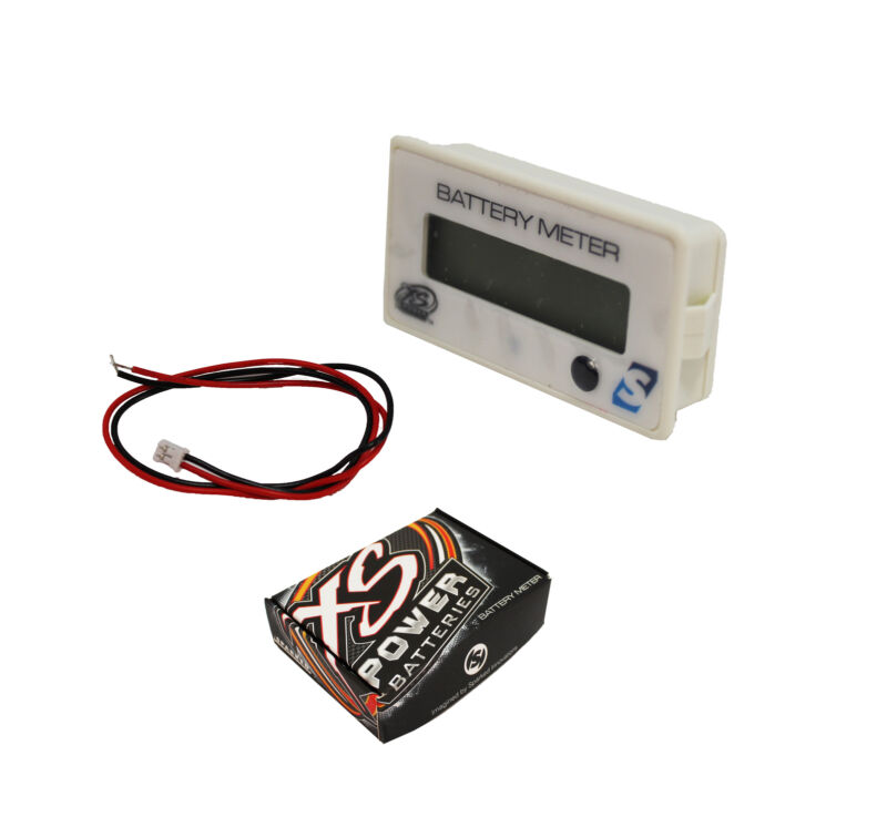 XS Power Voltage/Capacity Battery Meter - XSP-VM
