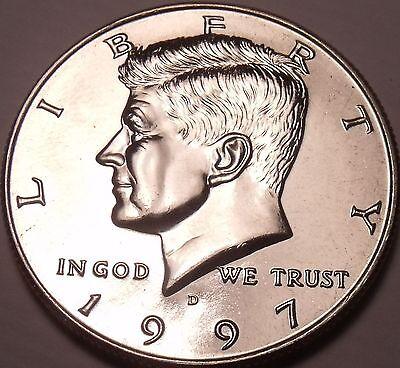 UNITED STATES UNC 1997 D KENNEDY HALF DOLLAR