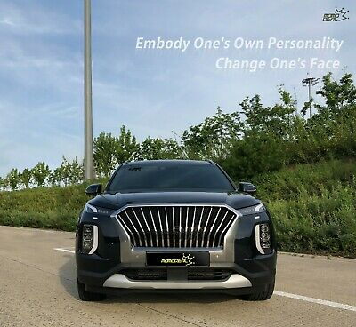 [MOMOREAL] New Front Radiator Grille Chrome / Black For Hyundai Palisade 2019+