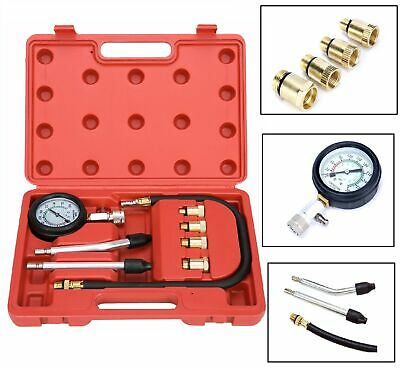 Cylinder Compression Gauge Tester Gas Petrol Engine Gauge Kit For Car -