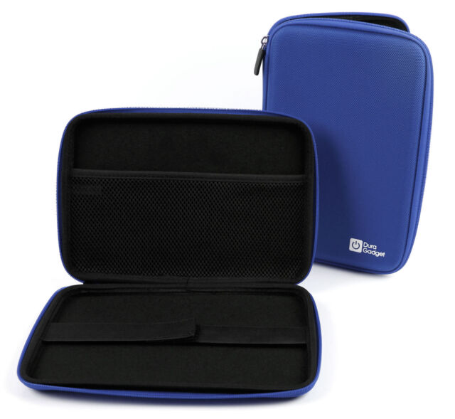 Blue Rigid Protective Case with Strap for the MEDION LIFETAB S7851 (MD 98675)