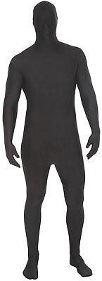 Verkleidung Kostüme (Basic Morphsuit schwarz NEU - Damen Karneval Fasching Verkleidung Kostüm)
