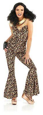 Ladies 90s Scary Spice Girl Costume S -  XXL Womens 1990s Pop Star Fancy Dress  ()