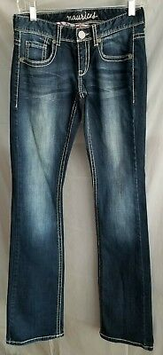 Skinny Jeans Tall Boots - MAURICES women's Skinny  Boot cut Dark Denim Jeans Size 0 long tall Excellent!!